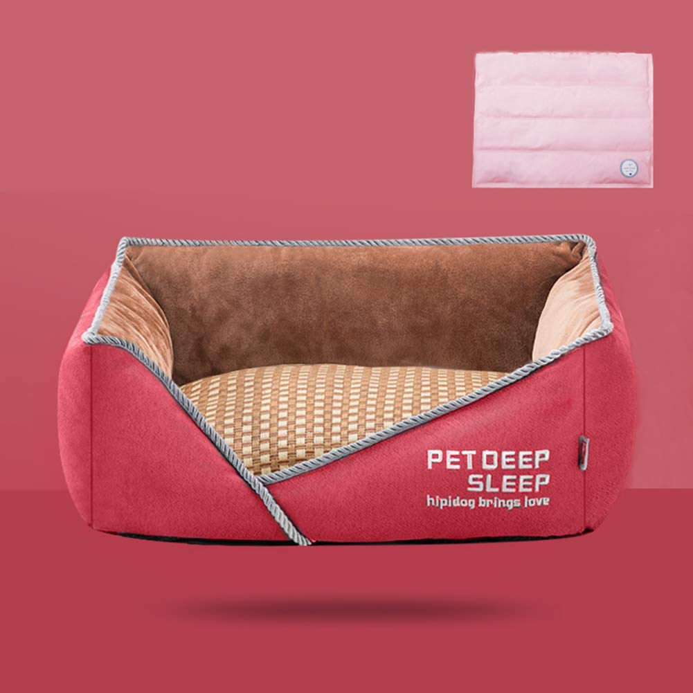 C 806020cm C 806020cm Pet Bed,Super Soft pet Bed,Dogs & Cats Removable Washable Four Seasons Universal Self Warming and Breathable Dog Bed