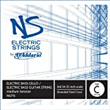 D'Addario NS Electric Bass/Cello Single High C String, 4/4 Scale, Medium Tension