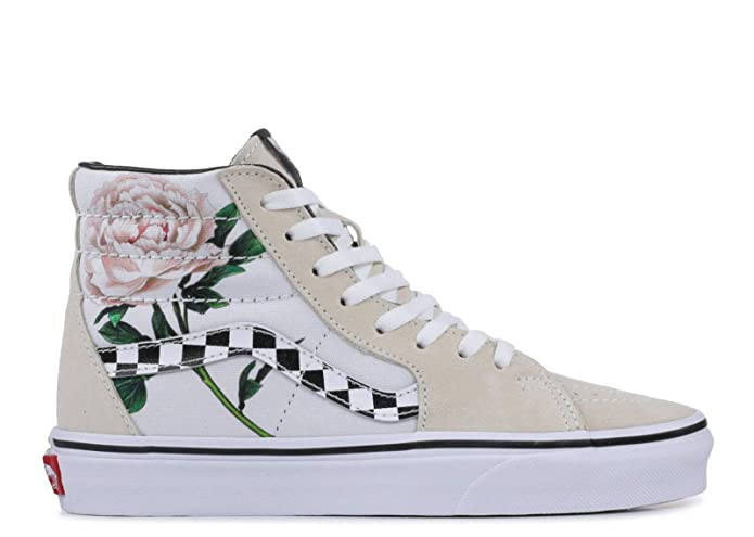 Vans Sk8-Hi High Top Sneaker Damen Herren Kinder Unisex Weiße Rose
