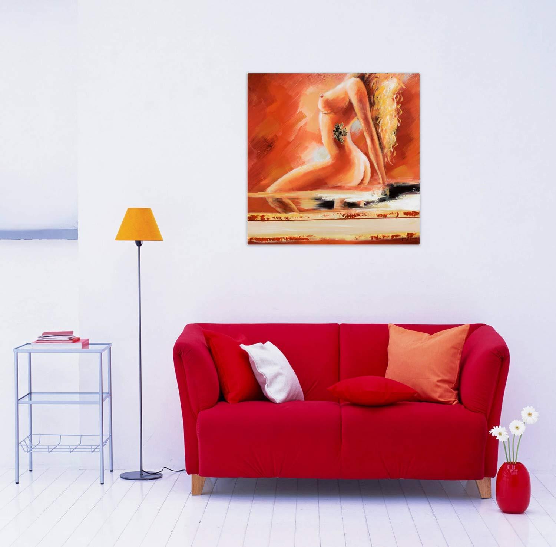 Kunstloft® Cuadro en acrílico Fuego y Llamas 80x80cm ...