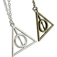FASHION JEWERLY Collares con Colgante triángulo de Harry