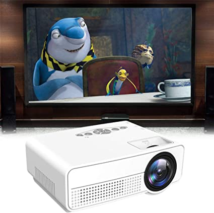 JUMOWA Mini Projector,4k Projector Ultra HD Home Theater ...