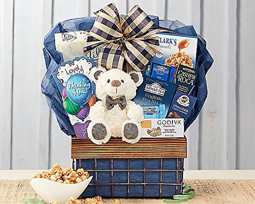 Wine Country Gift Baskets Bear Hugs - Thinking of You