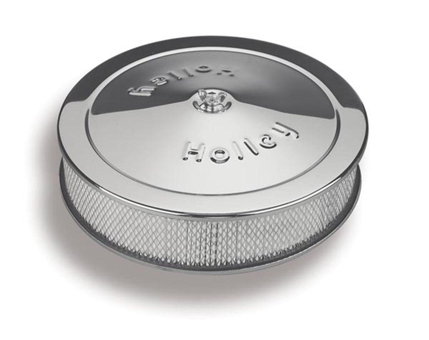 Holley 120-102 Chrome 14 Round Air Cleaner