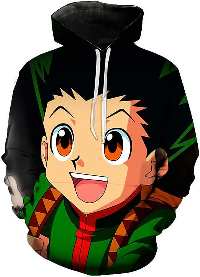 Elibeauty Hunter X Hunter Sweat-shirt /à capuche pour cosplay