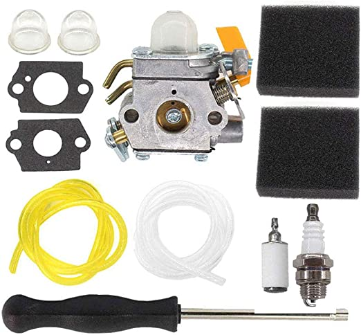 c/âble dacc/él/érateur de filtre /à air de carburateur de moteur 2 temps pour Pocket Bike ATV 49cc Carburateur Suuonee
