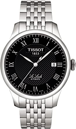 4e53815b2cd Image Unavailable. Image not available for. Color  Tissot Le Locle Auto  Stainless Steel Watch T41148353