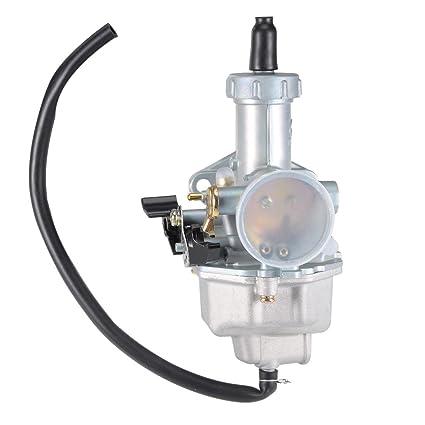 Uxcell Carburetor Carb For Honda ATC185 ATC185S ATC200 ATC200S ATC200X CB125S XR100 XR100R XR200 XR200R ATV