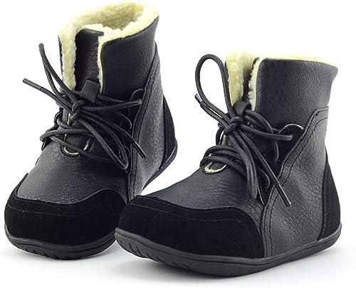 Kinder Schuhe Stiefel Stiefeletten für Jungen Mädchen Boots Warme Winterschuh