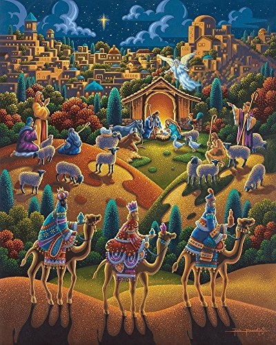 Jigsaw Puzzle - Nativity 100 Pc By Dowdle Folk Art