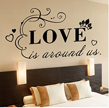 1Pc Wall Stickers Delicate Removable Romantic Wall Decoration for Wall
