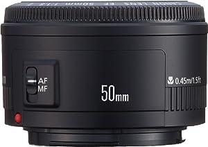 Canon EF 50mm f/1.8 II Standard AutoFocus Fixed Lens - White Box(Bulk Packaging)