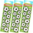 """""""Football Sticker Strip - 12 stickers in pack, 6 packs supplied [Toy]"""""""