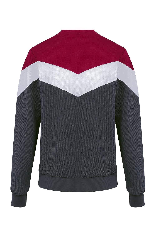 Schlank und ideal f/ür Sportwo f/ür die Stadt Made in France Sweatshirt Pullover f/ür M/änner Simy Langarmshirts