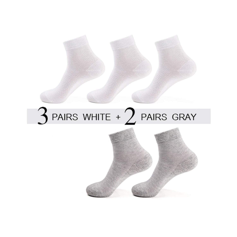5 Pairs//Lot Summer Men Mesh Cotton Socks Casual Socks For Men Short Socks Breathable