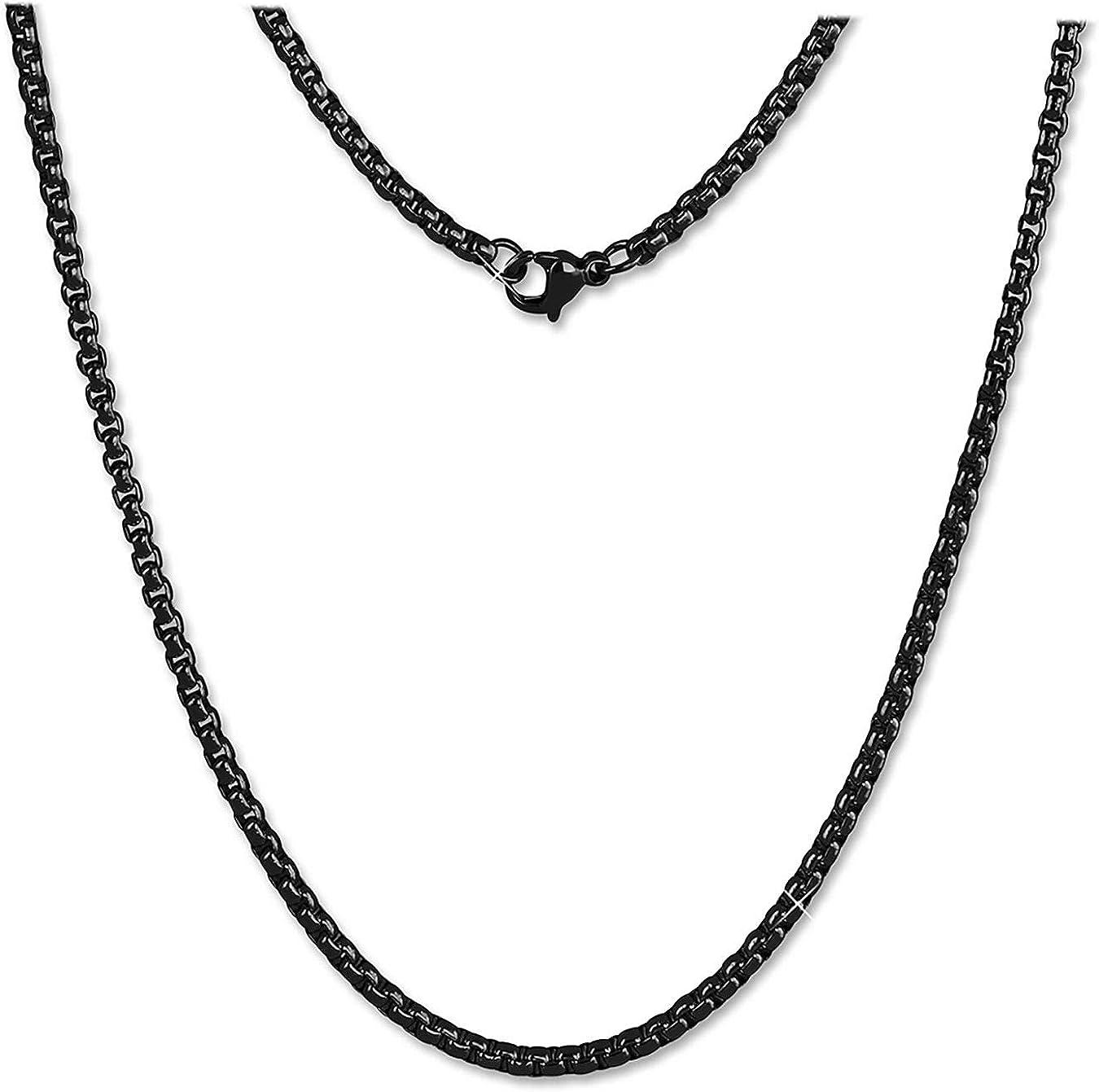 Amello collar cerámica doble sabe señora joyas de acero inoxidable eskx05w
