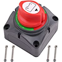 LotFancy Interruptor Aislador de Batería 4 en 1