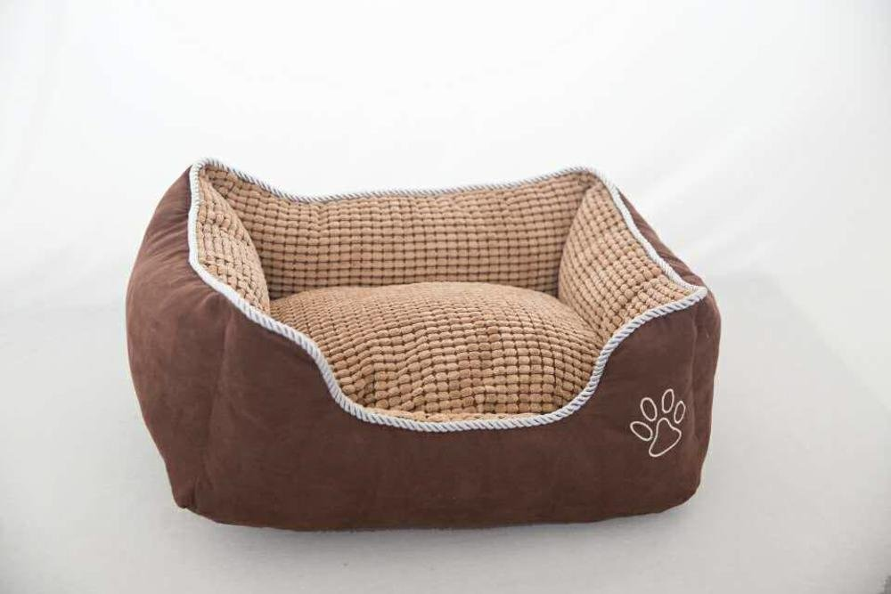 735825cm Lozse Pet Beds Kennel can be washed and washed doggy bed dog house for Dogs and Cats Sleeping Cushion