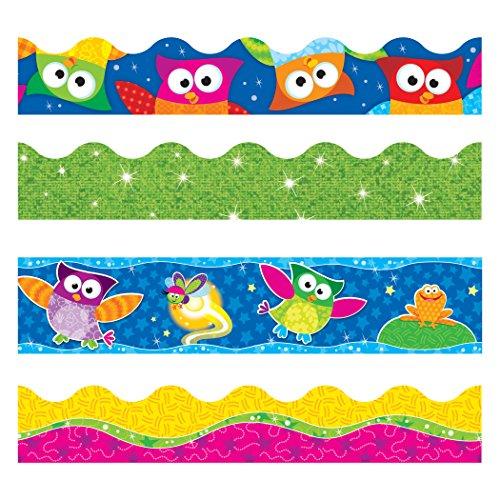 TREND enterprises, Inc. Owl-Stars! Terrific Trimmers, Variety Pack ()