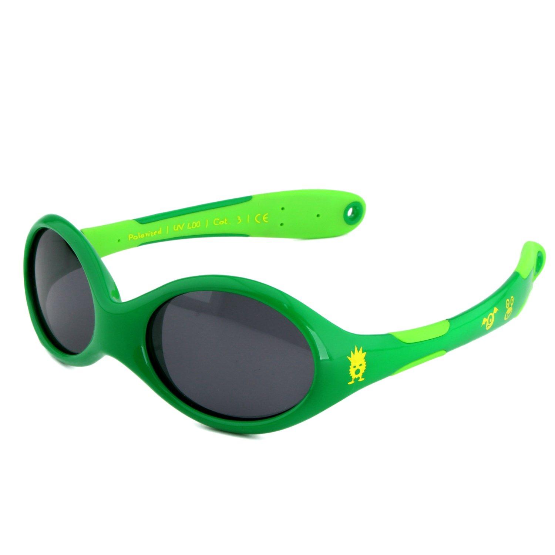 ActiveSol BABY-Sonnenbrille   JUNGEN   100% UV 400 Schutz   polarisiert   unzerstörbar aus flexiblem Gummi   0-2 Jahre   18 Gramm