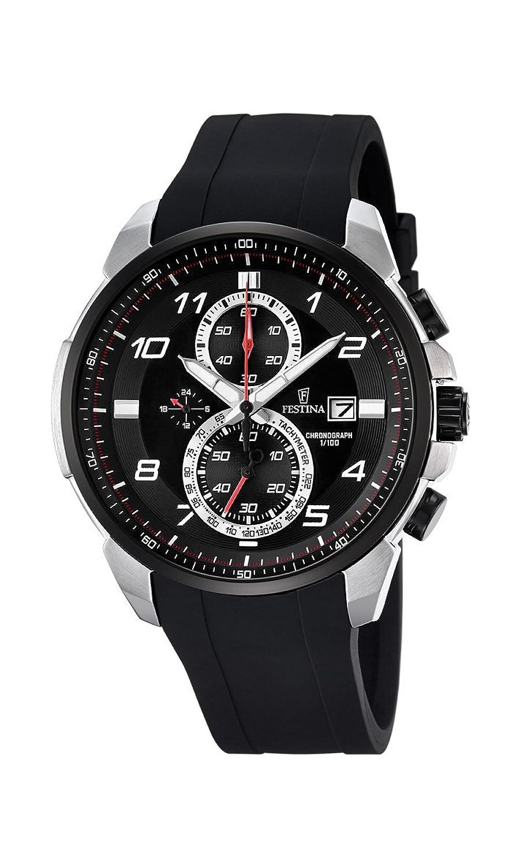 Festina Herren-Armbanduhr Chronograph Quarz Plastik F6841-2