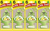 Little Trees Creamy Avocado Air Freshener, (Pack of 24)