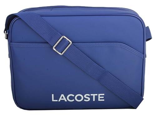802694dc9 Lacoste Mens Airline Bag - Mazerine Blue  Amazon.co.uk  Shoes   Bags