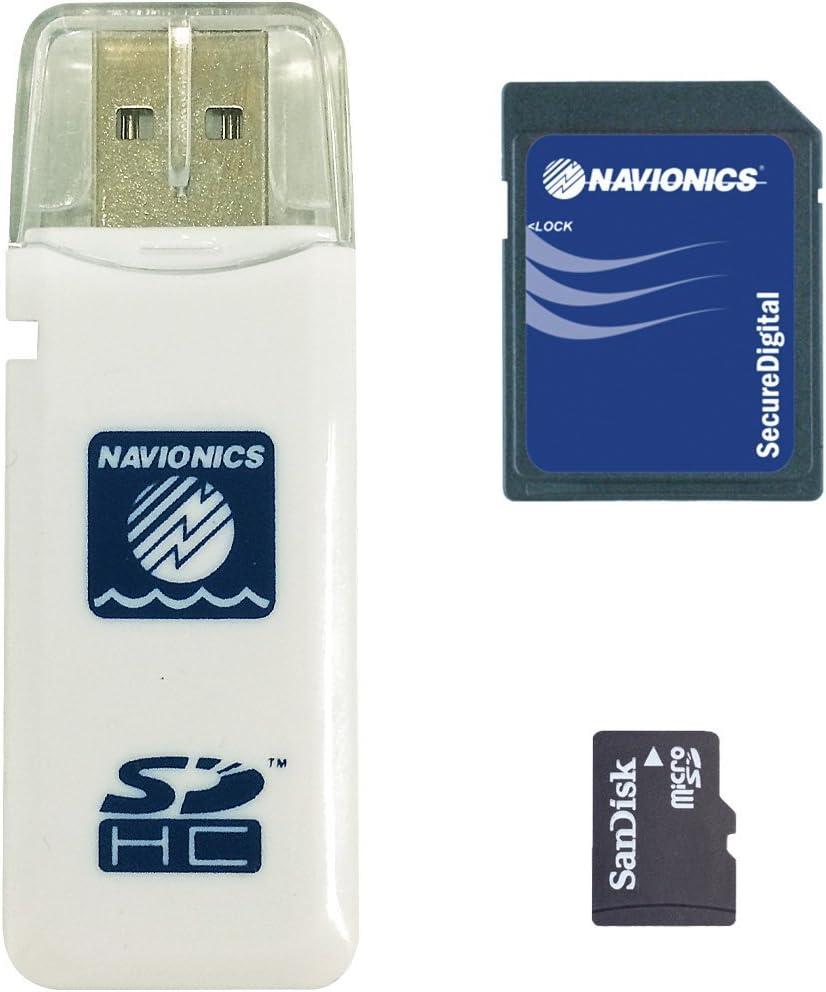 Navionics MicroSD - Carta náutica, zona 43XG Mar Mediterraneo y Mar Negro: Amazon.es: Electrónica