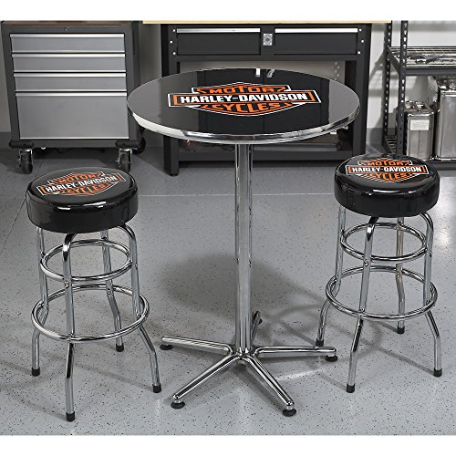 Harley Davidson Bar Shield Bar Stool Best Retro Products