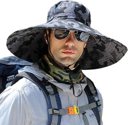 Sombreros y gorras XUERUI Sombreros Sombrero para El Sol Un Hombre ...