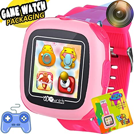 Kids Smart Watch Games for Boys Girls Fitness Tracker 1.5