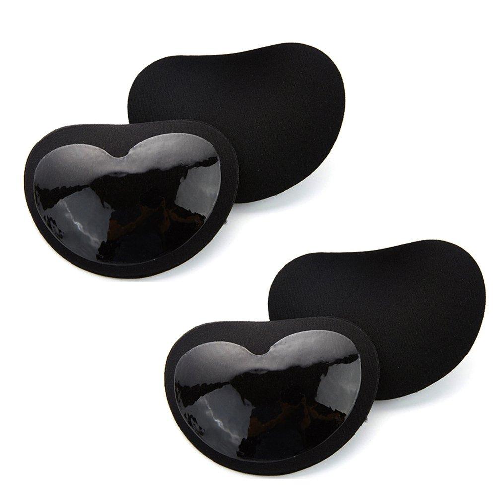 2 Pairs Magic Reusable Bra Inserts Push up Bra Pads Bikini & Swimsuit Breast Enhancer Shaper