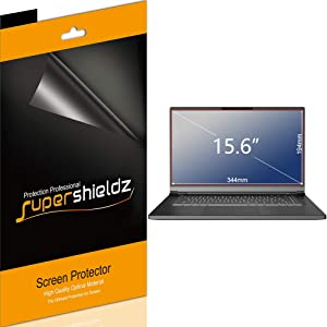 (3 Pack) Supershieldz for Acer Chromebook 15, Aspire E 15, Nitro 5, Predator Helios 300 (15.6 inch) Screen Protector Anti Glare and Anti Fingerprint (Matte) Shield