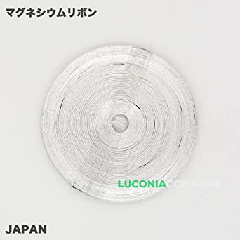Pure magnesio Metal Elemento 25 G MG cinta de bobina 99,5% magnesiumband