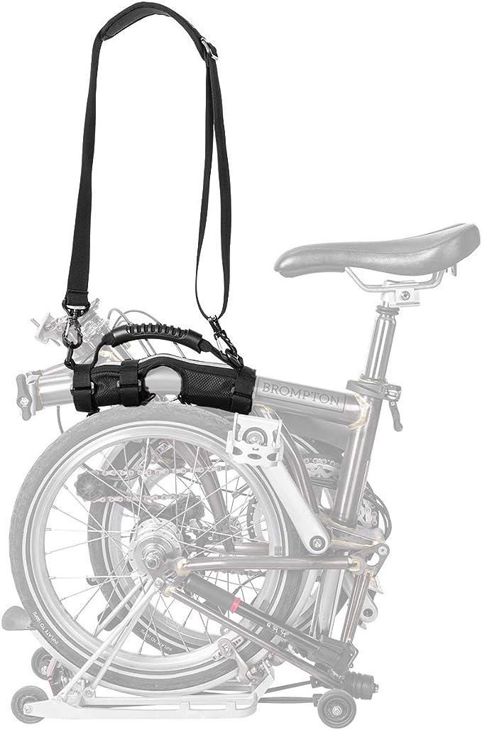 ROCK BROS - Asa de transporte para bicicleta Brompton con correa ...