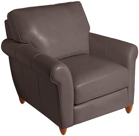 Omnia Leather Cameo Chair in Leather Honey Oak Legs Dream Espresso  sc 1 st  Amazon.com & Amazon.com: Omnia Leather Cameo Chair in Leather Honey Oak Legs ...