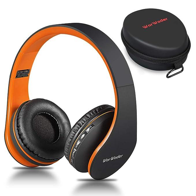Auriculares Bluetooth de Oreja, inalámbricos, Plegables ...