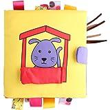 KAKIBLIN布絵本 おでかけ 布の玩具 作り方 布 えほん 子ども お祝い 誕生日 プレゼント 出産祝い
