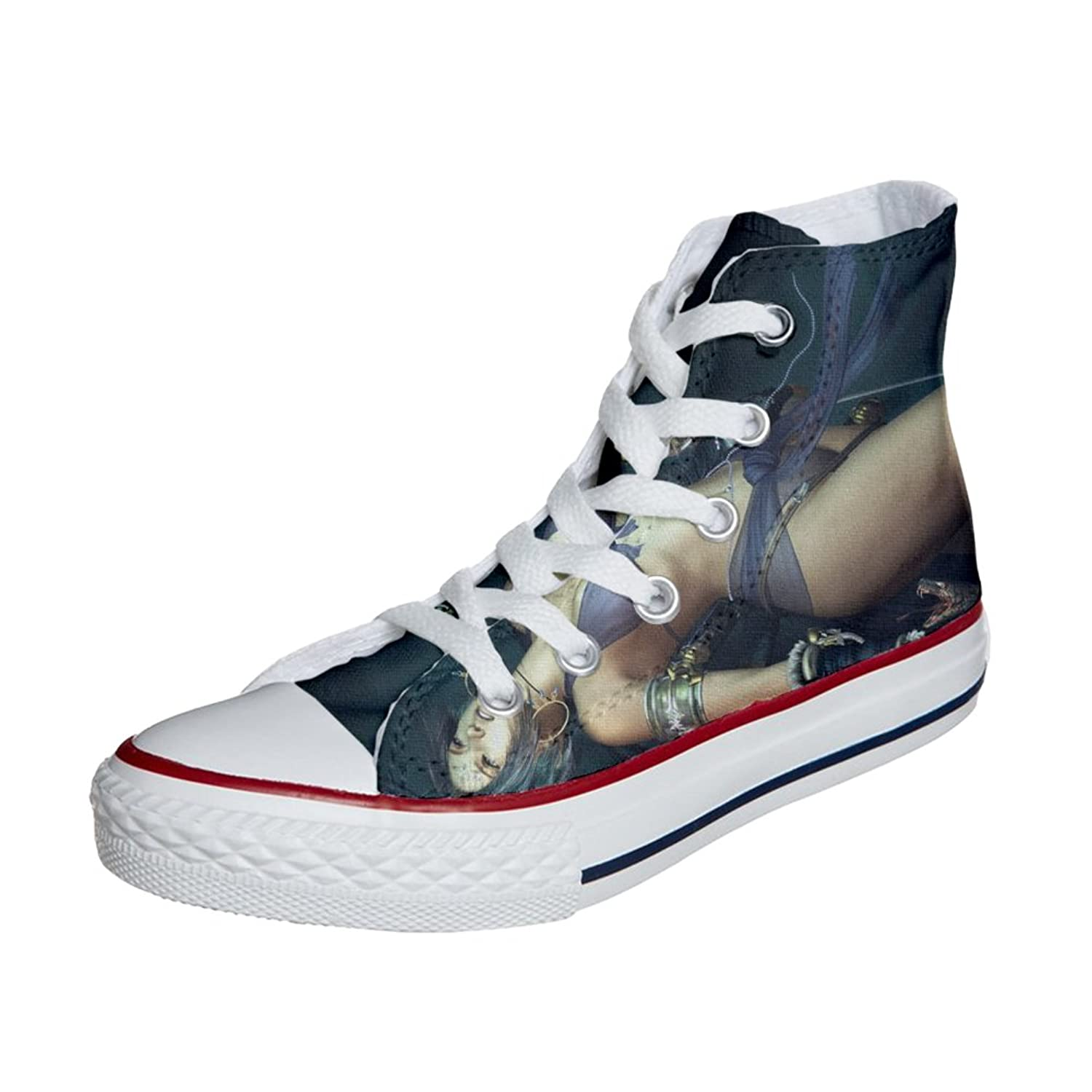 Converse All Star zapatos personalizados (Producto Handmade) New York City - TG41 imtt36