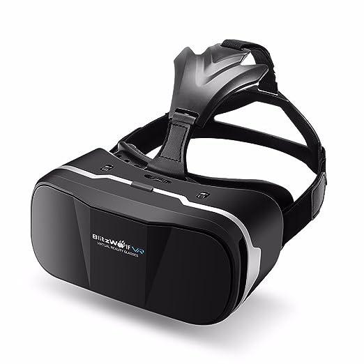 159 opinioni per Occhiali 3D Virtuali VR, BlitzWolf VR Occhiali Visore VR Compatibile con 3,5-6,3