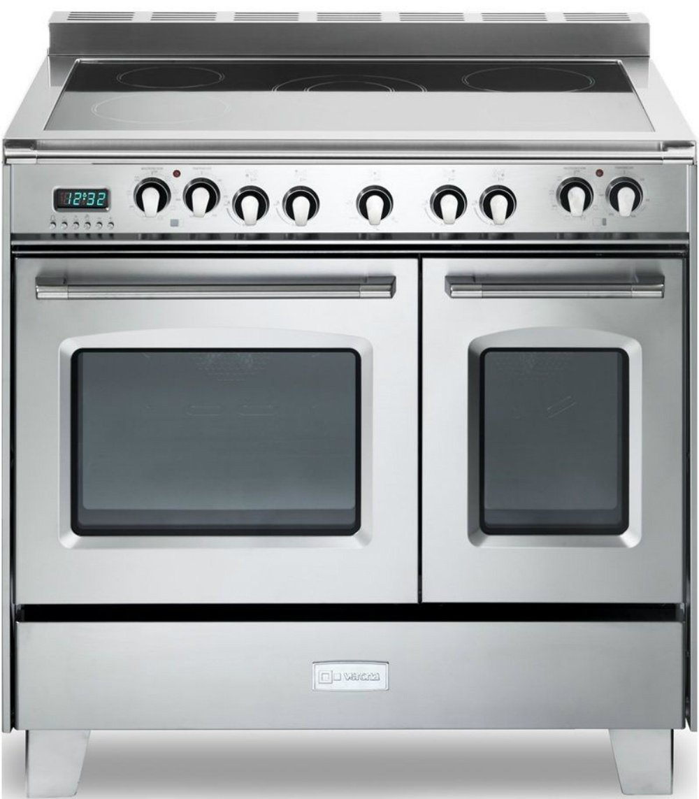 Verona Classic VCLFSEE365DSS 36'' Electric Double Oven Range Convection Stainless Steel