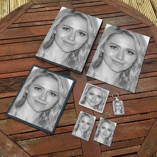 JOHANNA BRADDY - Original Art Gift Set #js001 (Includes - A4 Canvas - A4 Print - Coaster - Fridge Magnet - Keyring - Mouse Mat - Sketch Card) by Seasons