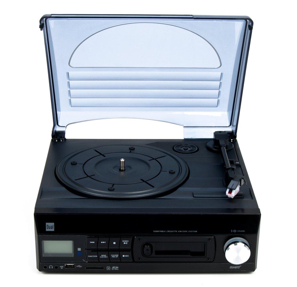 Dual 72960 - Tocadiscos con reproductor de casetes (lector de USB ...