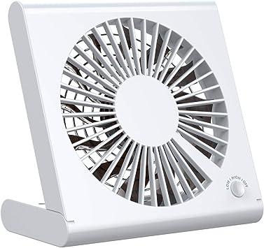 OLTA Mini Ventilador USB Silencioso Ajustable, Ventilador Portátil ...