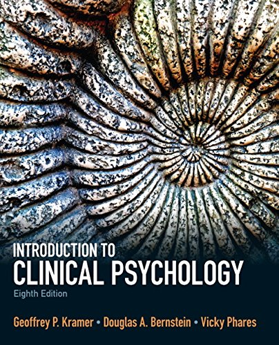 Introduction to Clinical Psychology (8th Edition)