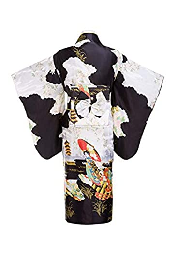Women's Party Silk Traditional Japanese Kimono