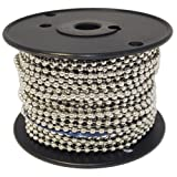 Ball Chain Number 10 Spool Nickel Plated Steel