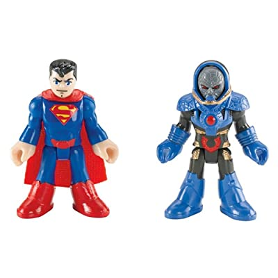Imaginext, DC Comics Justice League, Superman and Darkseid Figures, 3 Inches: Toys & Games