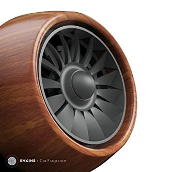 Engine Auto Lufterfrischer Autoduft Aus Holz Flugzeugmotor Design