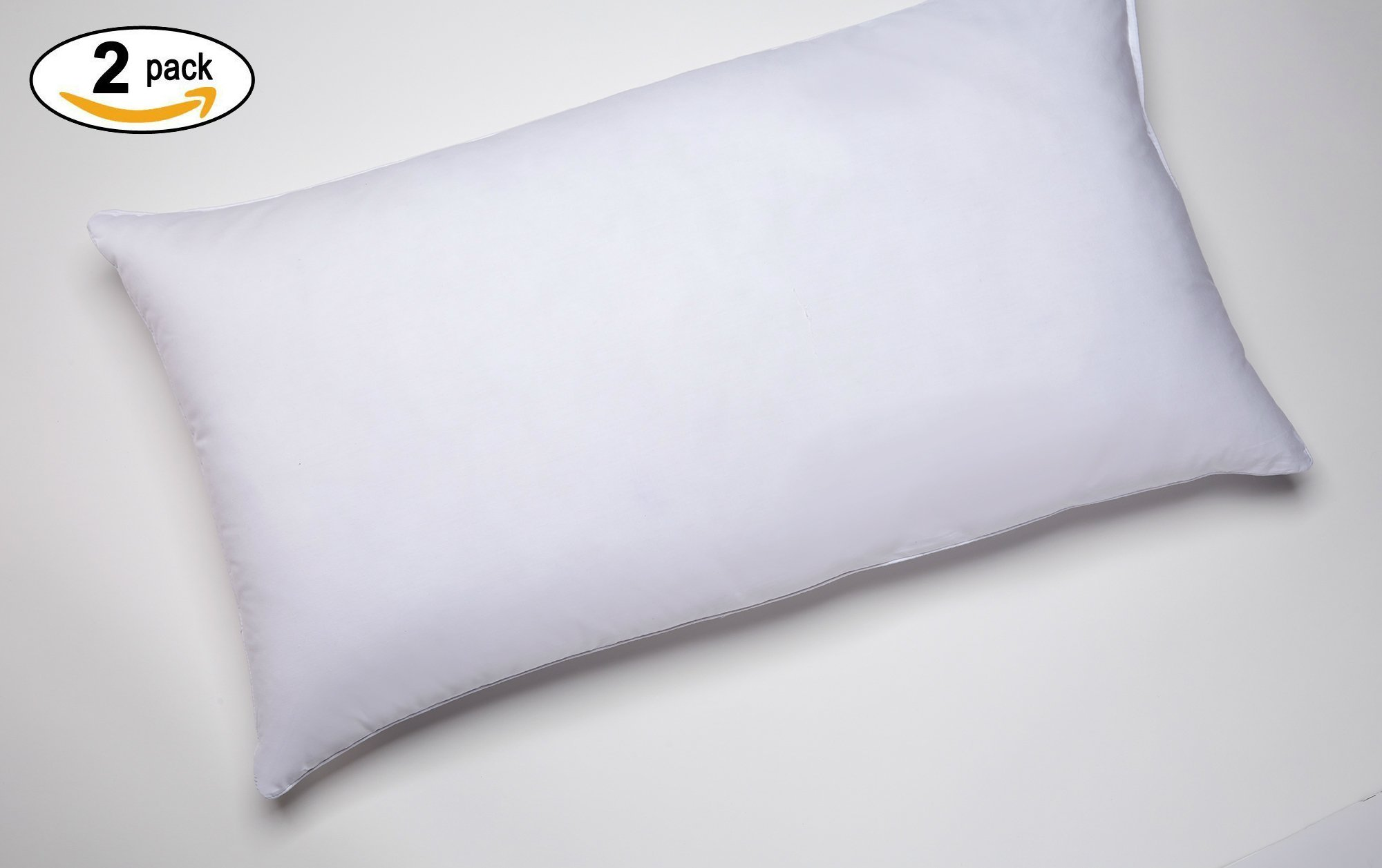 Marriott Hotel Pillow - Hypoallergenic Down Alternative - Official Marriott Pillow - King - 2 Pack